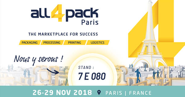 Palamy Salon de l'emballage Paris 2018